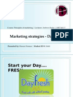 Marketing strategies - DayFresh