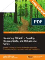 Mastering RStudio – Develop,Communicate, and Collaborate with R - Sample Chapter