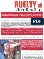 The Cruelty of Carted Deer Hunting