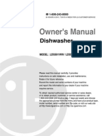 LG Dishwasher Manual