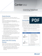 System Center 2012 R2 Configuration Manager Licensing