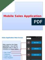 Sales App Flow