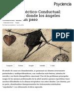 Terapia Dialéctico-Conductual (DBT)_ Zambullirse Donde Los Ángeles Temen Dar Un Paso