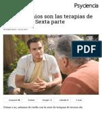 Terapias 3ªgeneración - Psicoterapia Analítico Funcional