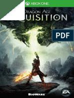 Dragon-Age-Inquisition-manuals Microsoft Xbox One En