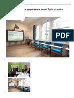 Corso Di Lingua Inglese Preparazione Esami Toeic a Londra