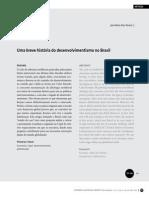 Uma Breve História Do Desenvolvimentismo No Brasil