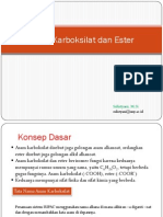 4c Senyawa Asam Karboksilat Ester