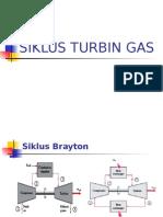 II. Siklus Turbin Gas