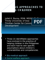 Evolving Approaches to Helping Children