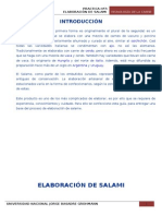 elaboracion del salami