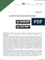 Las Revelaciones de Alberto Rivera