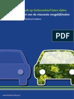 Uw wagenpark op biobrandstof laten rijden