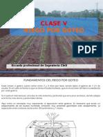 Clase 5-Riego Por Goteo