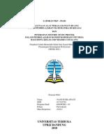 Laporan PKP - Alat Peraga Bangun Ruang dan Metode Study Proyek