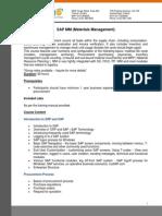 SAP MM (Materials Management)