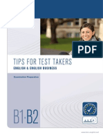 Tips for Test Takers b1-b2