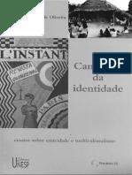 Caminhos Da Identidade Do Cardoso de Oliveira