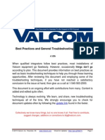 Valcom Best Practices and General Troubleshooting Procedures