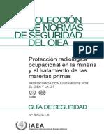 Exposicion Radiologica de Trabajadores de La Mineria Iaea