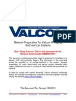 Valcom VoIP Network Requirements