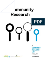 A Community Research Lab Toolkit