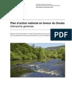 Plan d'action national en faveur du Doubs.