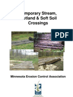 Erosion and Sediment Control for Temporary Wetland and Stream Crossings (306-15-09)