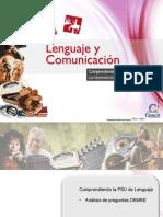 Clase 1 Comprendiendo La PSU de Lenguaje. La Importancia de Comprender El Texto 2015 CES