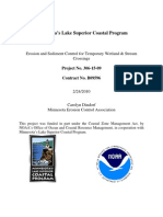 Erosion and Sediment Control for Temporary Wetland and Stream Crossings - Final Report (306-15-09)