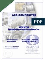 08-5744-14 Rev 1 - ACS COMPOSITES Citerne de Stockage d'Eau