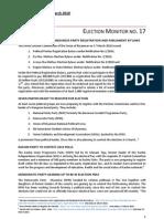 01Apr10 EBO's 17th Election Monitor report