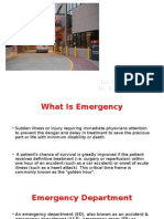 3. Emergency Department