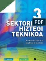 3. Sektoreko Hiztegi Teknikoa
