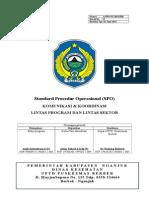 SPO Komunikasi Dan Koordinasi Lintas Program Dan Lintas Sektor