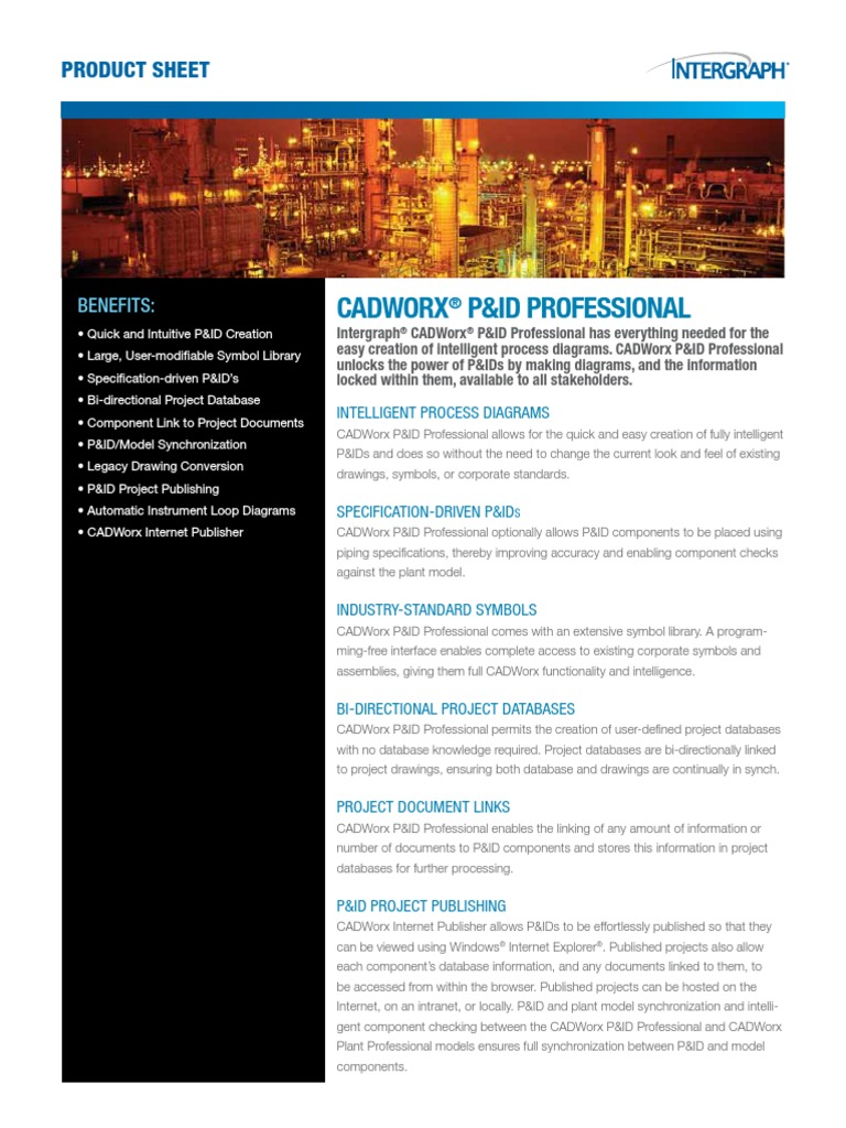 Cadworx Pid Professional Databases Autodesk