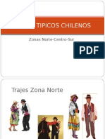Trajes Tipicos Chilenos Unidad de Septimo Basico