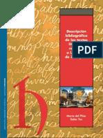 SALAS YUS-Descripcion Bibliografica de Los Tesxtos de Los Sitios de Zaragoza