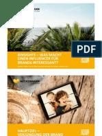 INREACH 2015 - #INSIGHTS – Was macht einen Influencer für Brands interessant?