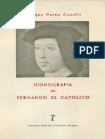 PARDO CANALIS-Iconografía de Fernando El Catolico