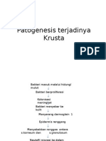 Patogenesis terjadinya Krusta