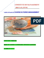 Foreign Exchange Management Course