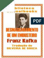 7039255 Franz Kafka Des Mascara Men to de Um Embusteiro