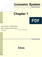 1-Introduction to Islamic Economics
