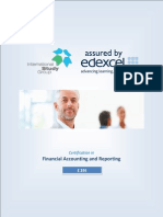 Financial Accouning and Reporting