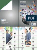XLRI PGDM-GM Placement Brochure 2015-16