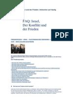 FAQ - Israel,der konflikt und der frieden