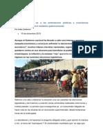Venezuela Le Dijo No a Las Pretensiones Políticas y Económicas Doctrinarias y El Control Mediático Gubernamental.