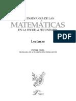 La Enseñanza de Las Matematicas_secundarialecturas