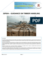 Sip004 - Guidance on Timber Handling - Issue 1
